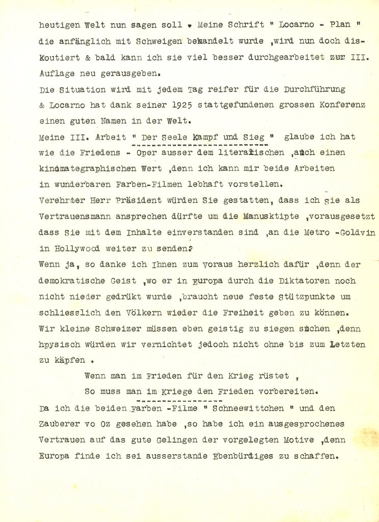 Letter to Roosevelt - page 2