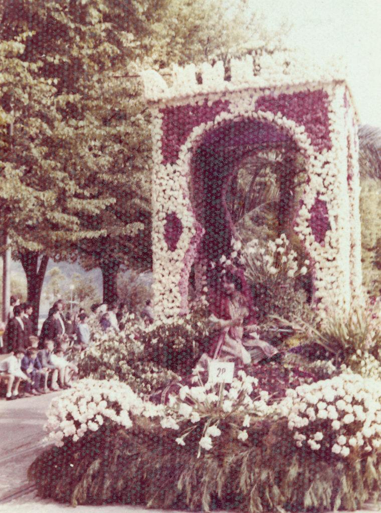 Flower float - Festa delle camelie